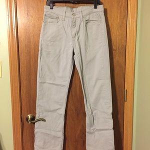 Men's Light Gray Levi Strauss Jeans W32 L30👔